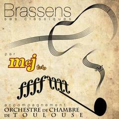 """MEJ TRIO & l'Orchestre de Chambre de Toulouse : """"Saturne"""" (Brassens)"""