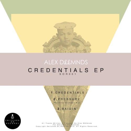 SOR001 - Credentials - Alex Deamonds
