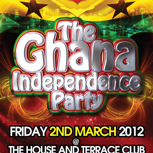 Ghana Independence @ The House and Terrace Mix CD by DJ Big L