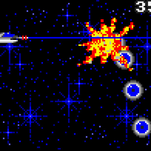 Side Scrolling Space Game
