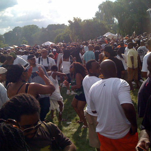 Frankie Knuckles 2011 summer party in the park Chicago