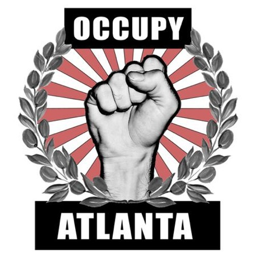 Occupy Atlanta and CWA rally for AT&T workers