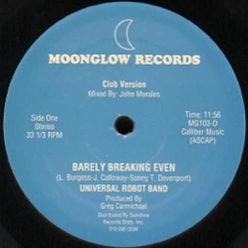 Barely Breaking Even/Universal Robot Band - Disco Dubb Edit
