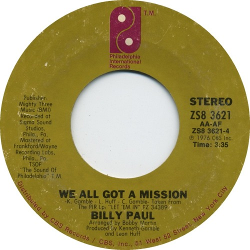 BP - we all got a mission (dj mila extended edit)