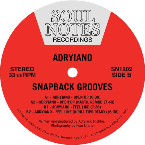 Adryiano - Snapback Grooves // SN1202