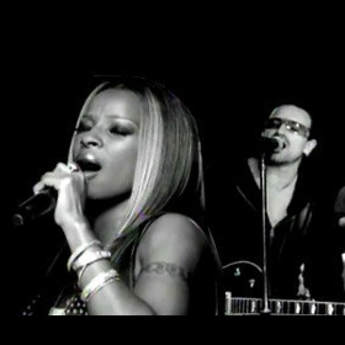 U2 & Mary J  Blige - One - Live