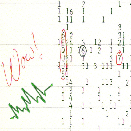 "Untitled ""Wow! Signal"" - The Third Twin"