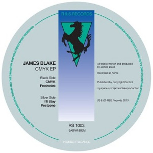 James Blake - CMYK ( Up and Down Remix ) FREE DL