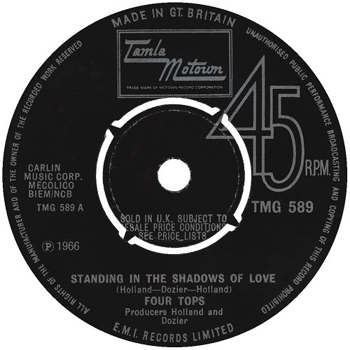 The Four Tops - Standing In The Shadows Of Love (Wonderlove's Extended Remix)  128kbps Preview