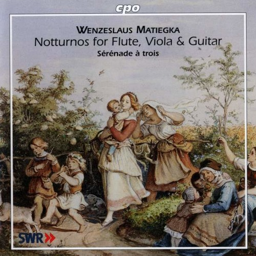 Notturno for Flute, Viola & Guitar, Op. 21 in G major - Allegro moderato
