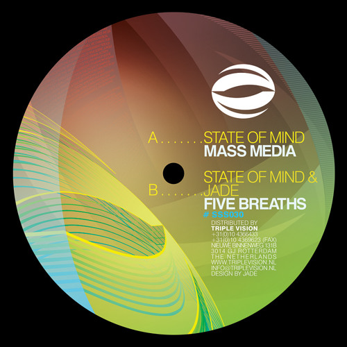 "SSS030 Jade & State of Mind - ""Five Breaths"" [Subsonik Sound]"