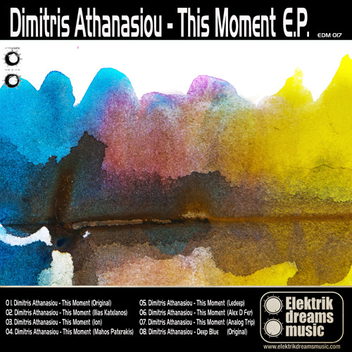 Dimitris Athanasiou - Deep Blue (original mix)
