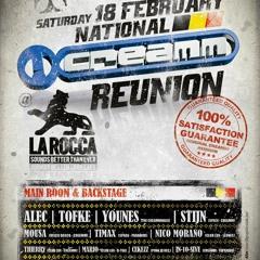 Nico Morano live at National Creamm Reunion 18 02 2012 @ LA ROCCA