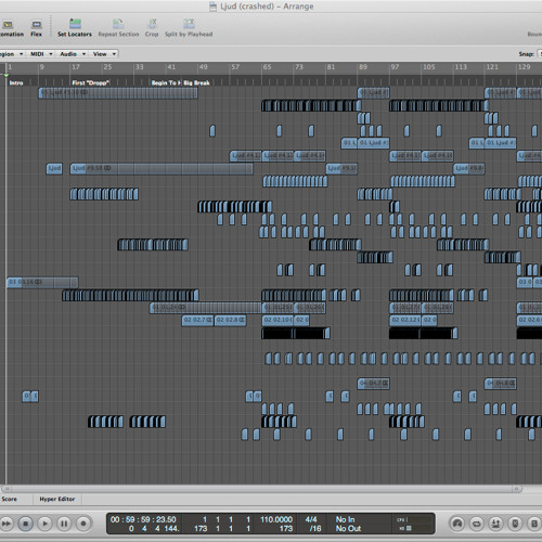 Andreas Tilliander Ljud (MIDI's Filemix)