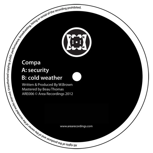 Compa - Cold Weather edit (ARE006) out now