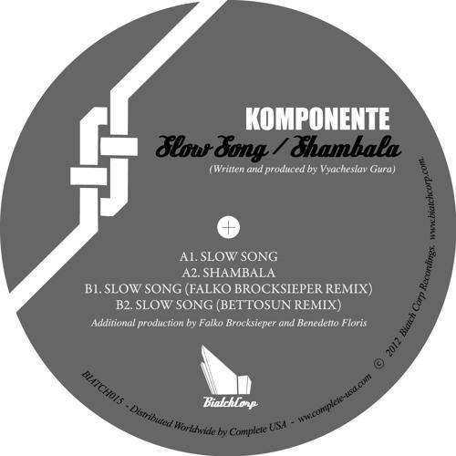 Biatch015 - Komponente - Slow Song / Shambala