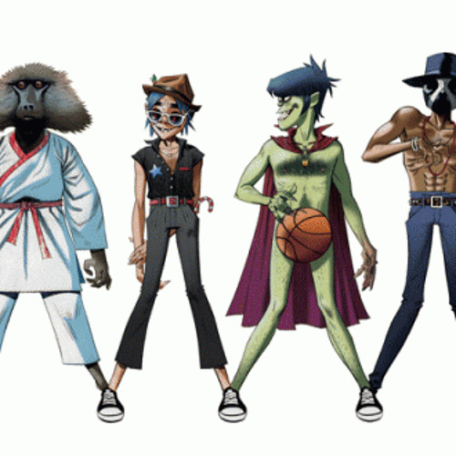 Gorillaz ft Andre 3000 and James Murphy - Do Ya Thing