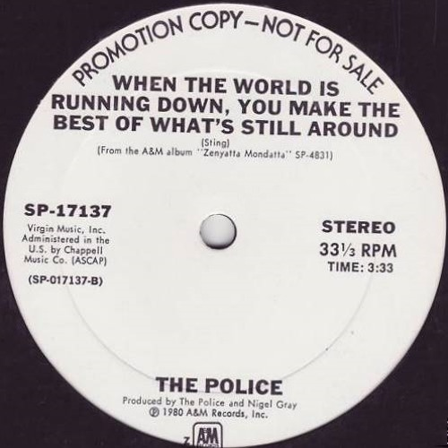 Police_When the world is running down_Memoryman Rework_Free Download