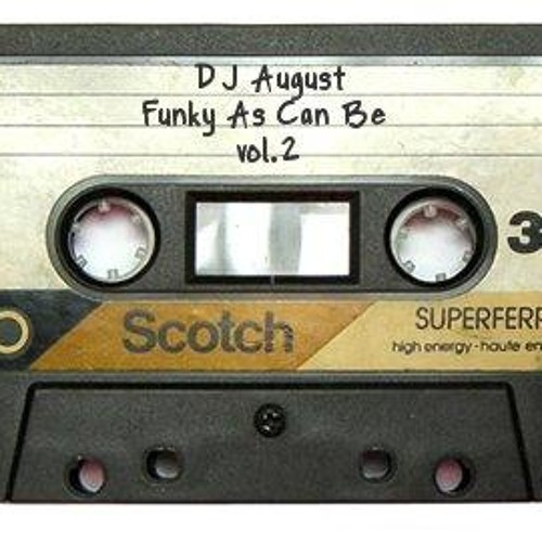 DJ August - Funky As Can Be vol. 2
