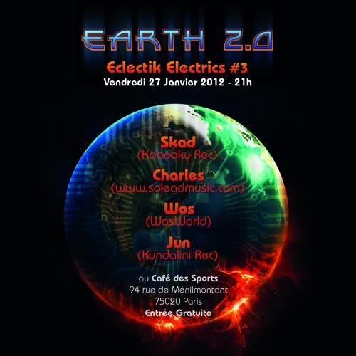 EARTH 2.0 - Progressive Trance set from Skad (Atomes)