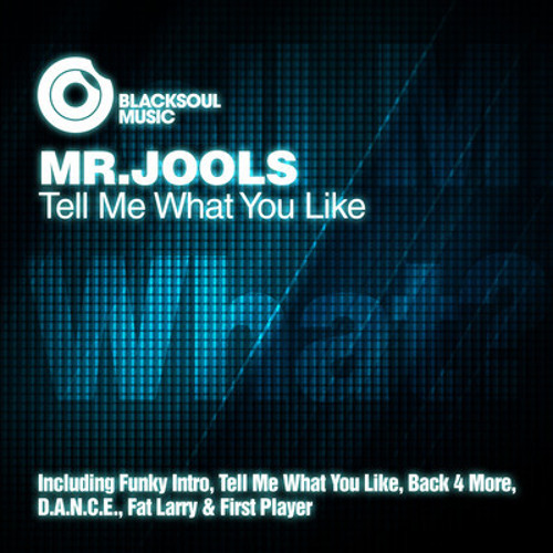▶ MrJools - Tell Me What You Like