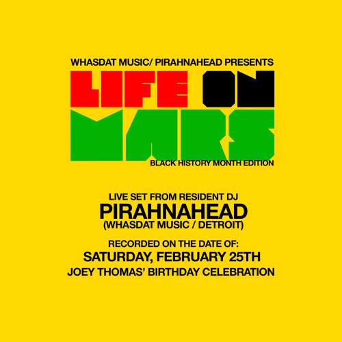 "Pirahnahead - Live @ ""Life On Mars"" February 25, 2012 (Joey T's B-Day)"