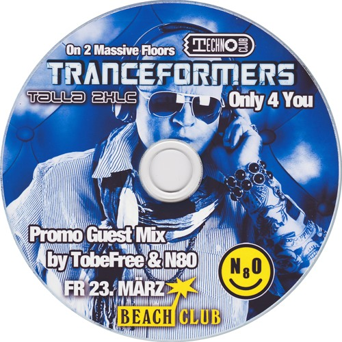 TRANCEFORMERS Promo Guest Mix - Live by TobeFree & N8O