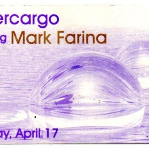 Mark Farina Supercargo Live at Tracks2000 Denver CO 1997 Side A