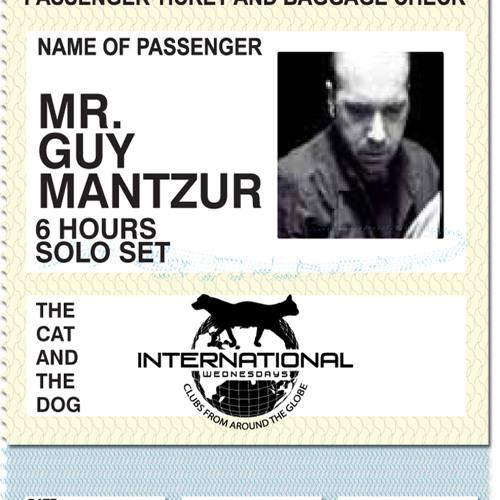 Guy Mantzur Live At Cat & Dog 08-02-2012 (Part Of My 6hrs solo Set)