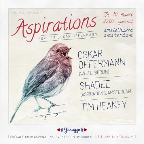 Aspirations Podcast 001: Oskar Offermann