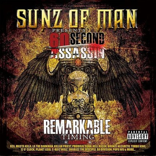 """60 Second Assassin feat. Sunz of Man """"M.O.A.N"""" -Remarkable Timing (2010)"""