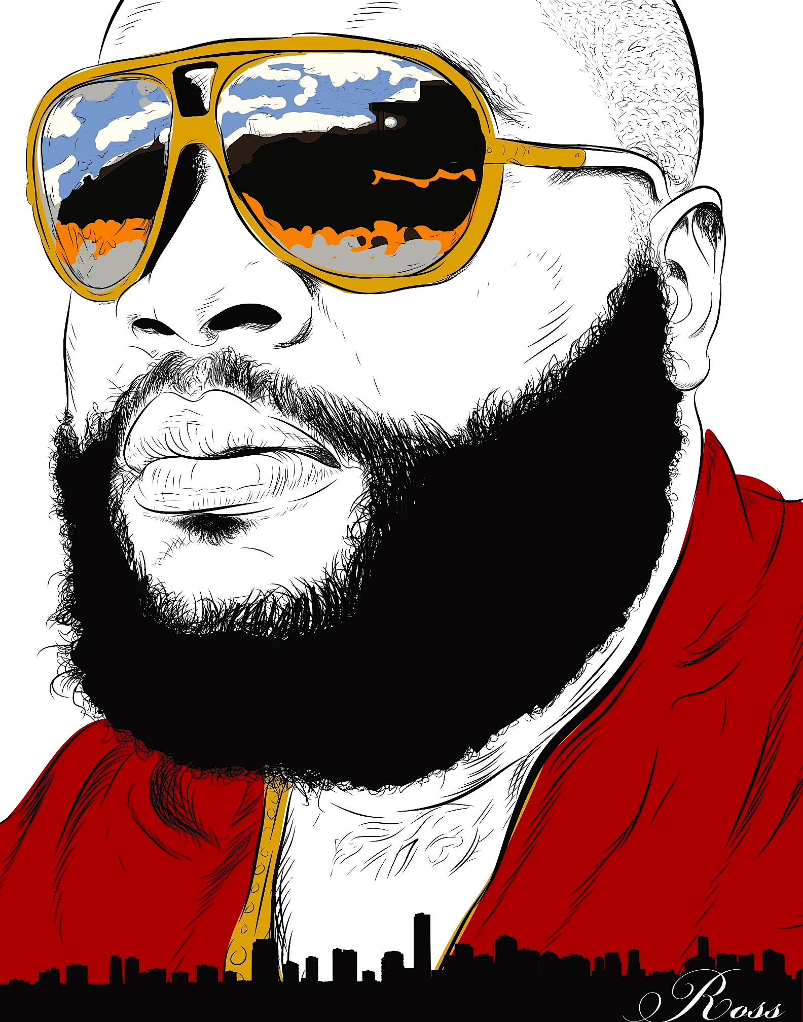 Rick Ross the Boss