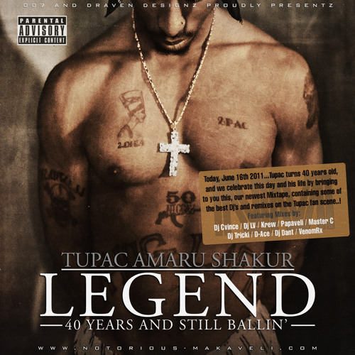 19 - 2PAC: Until The End Of Time (Produced by Dj Cvince)