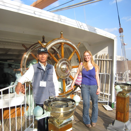 Podcast No. 1 - Welcome on board the Nippon Maru - Yokohama, Japan