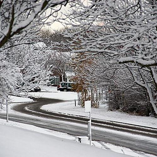 Winter Walk to Church