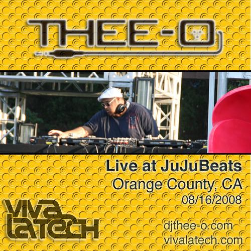 Thee-O - Live at JuJuBeats (08/16/08)