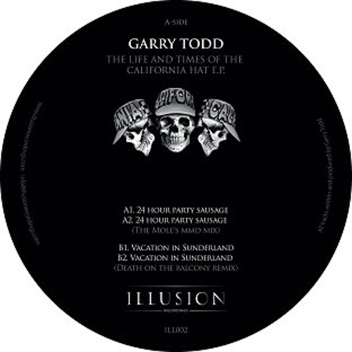 Garry Todd - Vacation In Sunderland (Death on the Balcony Remix) 192 Clip