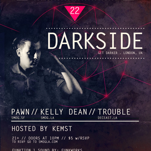 Kelly Dean LIVE @ Smog Sundays 1-22-2012 FREE DOWNLOAD