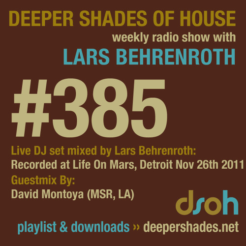 DSoH #385 1st hour