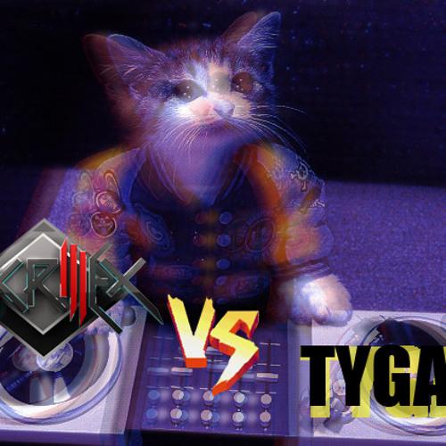 Skrillex vs. Tyga - Kyoto Nasty (Hey Zeus Mashup)
