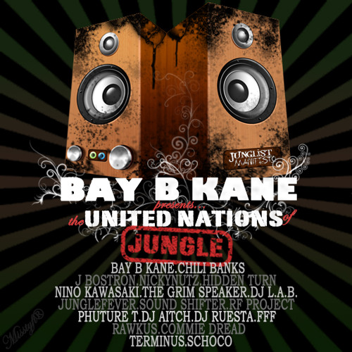 Deep in the Jungle by rawkus [Bay B Kane Presents: The United Nations of Jungle] (out now!)