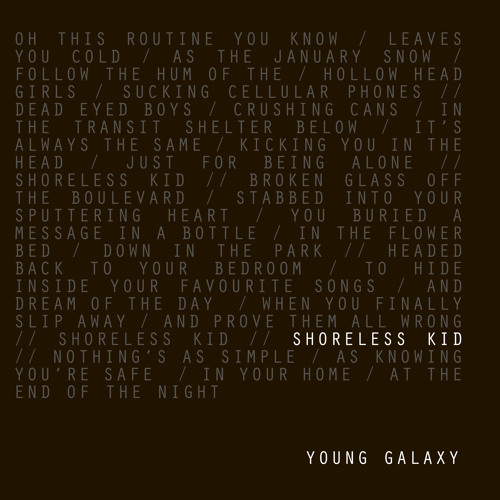 YOUNG GALAXY 'Shoreless Kid'