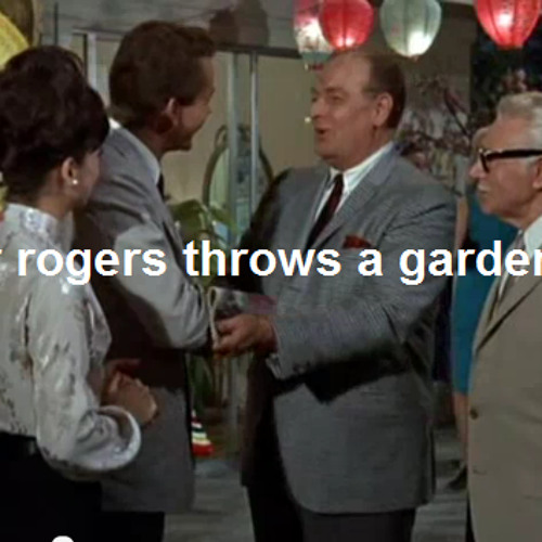 Mister Rogers Throws A Garden Party