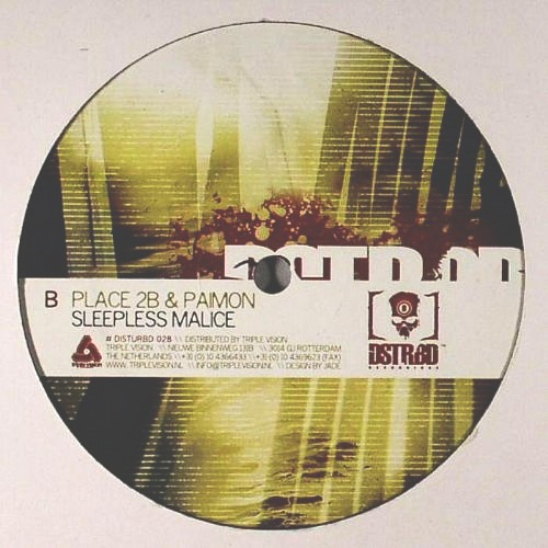 Place 2b & Paimon - Sleepless malice [Disturbed028] 12''