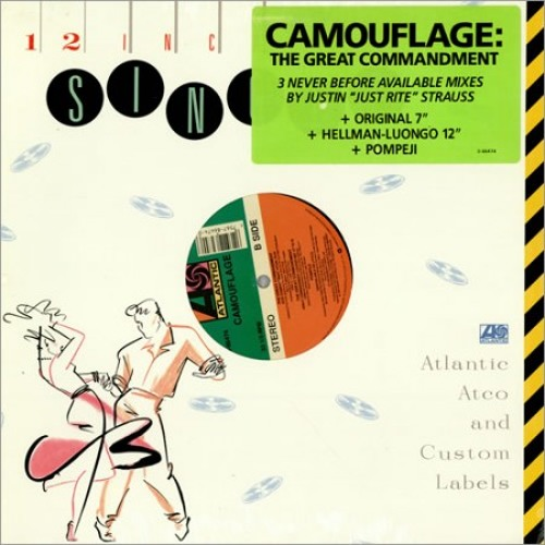 f0361619d6 Camouflage - The Great Commandment - Justin Strauss Remixes - 1988 by justin  strauss