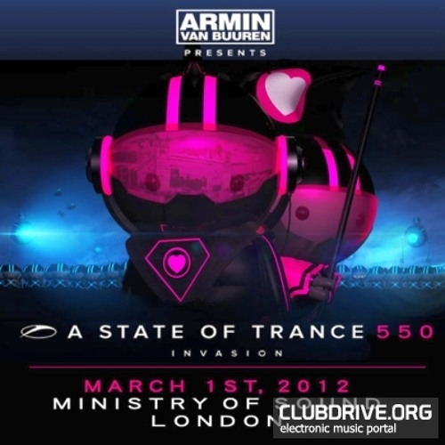 No Reservations( KhoMha RMX ) - Gabriel And Dresden - Cut From Armin Van Buuren Set @ ASOT 550