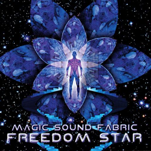 "Magic Sound Fabric ""Flight of the Purple Energetics"""