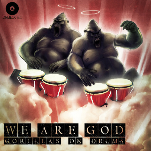 Gorillas On Drums - We Are G.O.D (A.G.Trio Remix) teaser