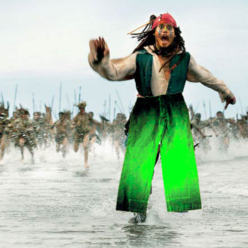 Chemical Pants - Captain Jack Sparrow