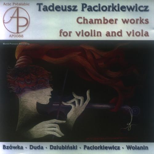 Tadeusz Paciorkiewicz - Sonata/Presto con fuoco